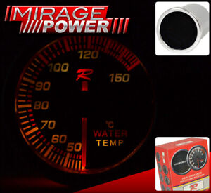 Racing Monitor Meter Dial Needle Gauge Motor Water Temperature Vw Passat Rabbit