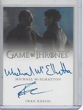 Game of Thrones Valyrian Steel McElhatton / Rheon Dual autograph #1