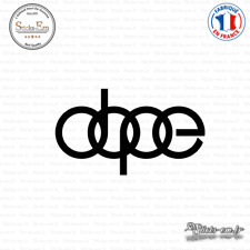 Sticker JDM dope audi Decal Aufkleber Pegatinas D-155 Couleurs au choix