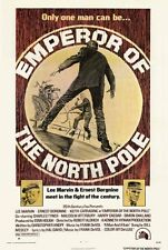 EMPEROR OF THE NORTH POLE Movie POSTER 27x40 Lee Marvin Ernest Borgnine Keith