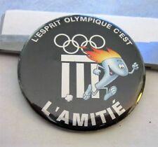 IOC OLYMPIC SPIRIT MUSEUM BUTTON pin badge