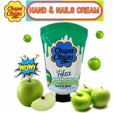 Chupa Chups Hand Nail Cream Let s Relax GREEN APPLE Fragrance Fruit Scent 30ml.