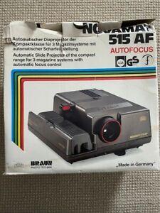 Braun Novamat 515 AF 35mm slide projector