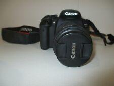 Canon EOS Rebel T5/ EOS 700D 18.0MP Digital SLR Camera-Black needs battery-def
