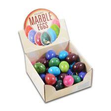 "marble coloured 2"" eggs alternative easter gift blue green  2 3 6 12 egg stand"