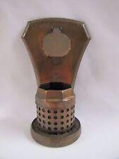 Antique Insect Repellant Cedar Vaporator Moth Repellant Copper 1930s Unique!