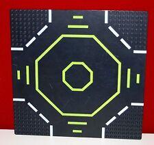 Lego Platte Landeplatz schwarz Space aus Blacktron 6988, 32x32 Noppen, 25x25cm,