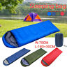 Outdoor Waterproof Sleeping Bag Backpacking Adults Camping Hiking Warm Envelope