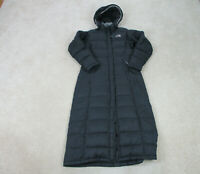 The North Face Jacket Womens Small Black Hood Puffer Parka Coat Triple C Ladies