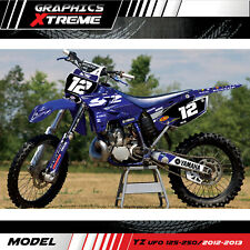 Yamaha YZ 125 250 UFO RESTYLED Kit Complete Decals GRAPHICS 2002 2012 2013 2014