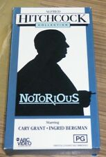VHS Movie - Alfred Hitchcock Collection: Notorious