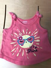 Gymboree Baby Girls Pink Tank Top/T shirt Size 6-12 Months in Great condition!
