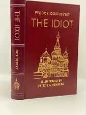 Easton Press THE IDIOT Dostoevsky Collector's LIMITED Edition RUSSIAN LITERATURE