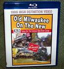 "20423 TRAIN RAILROAD BLU-RAY 1080i ""OLD MILWAUKEE  #261 STEAM NEW RIVER GORGE"""