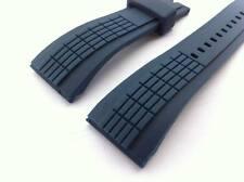26mm Navy Blue watch Strap / band Comp. Seiko Velatura SPC156P SPC075 SRH017