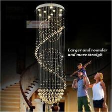 New Modern K9 Clear Crystal Ceiling Light Pendant Lamp Chandelier Lighting #3063