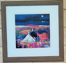 John Lowrie Morrison (Jolomo) Framed & Mounted Print  Evening Isle of Bute