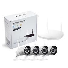 4CH 960P Wireless IP Camera System WIFI NVR Network Onvif P2P Outdoor FTP IR Cut