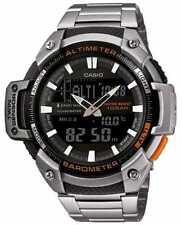 Relojes de pulsera de acero inoxidable con calendario perpetuo de hombre