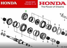 HONDA CIVIC INTEGRA EK EG DB GENUINE GEAR MAINSHAFT FIFTH 23581-P21-F00 NEW