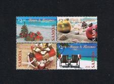 Samoa 2016 Christmas Stamp Postage Stamp Issue