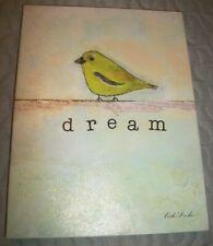 """Bird Art by Caitlin Dundon Canvas Art Print 8.5 X 6.5 """"Dream"""""""