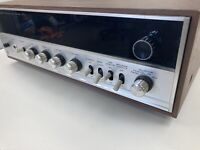 Sansui Stereo Tuner Amplifier Solid State 350A Vintage