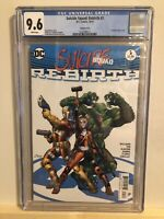 DC Suicide Squad #1 Rebirth CGC 9.6 Variant Cover Harley Quinn