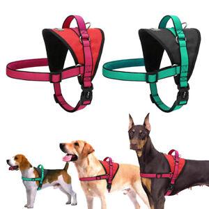Nylon Dog Harness K9 Pet Dog Vest Soft Strong Walking Harness Adjustable S - XL