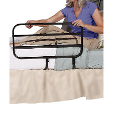 Adult Bed Extendable Safety Rail Fall Prevention Support Elderly Home Hospital