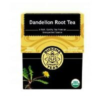 Organic Dandelion Root Tea 18 Bags  by Buddha Teas