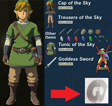 Zelda Breath Of The Wild Skyward Sword Link Amiibo NfcTag Switch WiiU NO CARD
