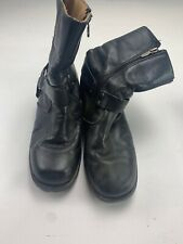 Harley Davidson Black Short Motorcycle Ankle Boots Women's Size US 8 A0415