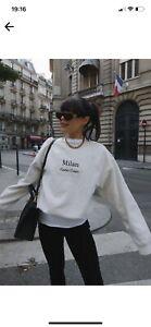 Lorna Luxe In The Style Off White Jumper Sweatshirt Loungewear 18-20