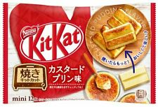 Japanese Kit-Kat Custard Pudding KitKat Chocolates 12 bars