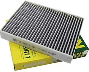 Mann-filter Cabin Air Filter CUK2847/1 fits VW TOUAREG 7P5, 7P6 3.0 V6 TDI