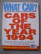 What Car (April 1994) Citroen ZX, Astra, Omega, Discovery, Cars of the Year