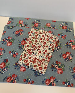 Waverly Garden Room Morning Glory Shabby Cottage Chic  2-Placemats 2-Napkins