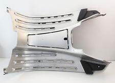 Marchepied plancher capot argent ORIGINAL utilisé pour Vespa LX 50-150ccm