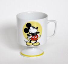 Vintage Disney Mickey Mouse Pedestal Mug Footed Coffee Cup