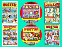 Buster comic Weekly -  520 issues on 4 DVD Rom's (CBR FORMAT) 1960 - 1977 Comics