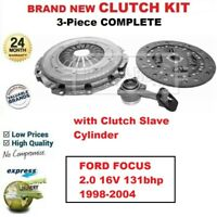 FOR FORD FOCUS 2.0 16V 131bhp MTX75 1998-2004 BRAND NEW 3-PC CLUTCH KIT with CSC