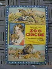 cirque zoo circus guide programme olonzac herault 34