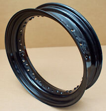 Harley original Felge schwarz 17 x 4,5 Wheel Spoke Rim black 40 Speichen Dyna