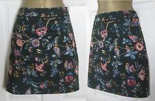NEW Oasis Womens Floral Print Mini Skirt A Line Green Autumn 8 10 12 14 £38