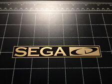 Sega CD video game system logo vinyl decal sticker 1990s old school