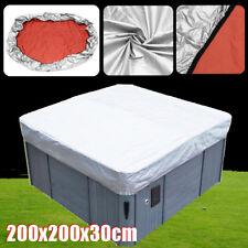 UV Proof Spa Hot Tub Cover Guard & Cap for Jacuzzi Hotspring Calspa 200x200x30cm