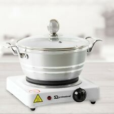 Single Electric Hot Plate Portable Table Top Cooker Hob 1000W