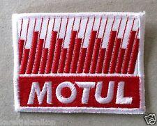 Vintage Sew-on Patch Motul Oil
