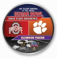 2021 OHIO STATE VS. CLEMSON SUGAR BOWL DUEL TEAM GAME PIN 2020 COLLEGE FOOTBALL